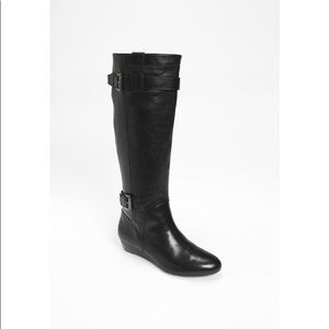 NWOB Nine West Kenway knee high leather boots